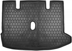 Коврик в багажник для Renault Lodgy '12-, резиновый (AVTO-Gumm)