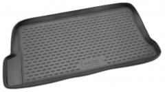 Коврик в багажник для Daewoo Matiz '01-, полиуретановый (Novline / Element) черный