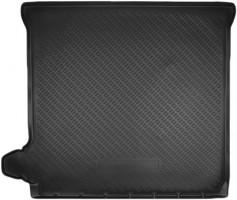 Коврик в багажник для Nissan Pathfinder '05-14, полиуретановый (NorPlast) черный