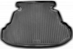 Коврик в багажник для BYD F3 '05-, седан, полиуретановый (Novline / Element) черный