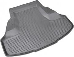 Коврик в багажник для Honda Accord 8 '08-13 седан, полиуретановый (Novline / Element) серый