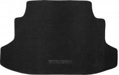 Коврик в багажник для Mitsubishi Galant '04-12, текстильный черный