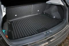 Коврик в багажник для Nissan Qashqai '06-14, полиуретановый (Novline / Element) черный EXP.NLC.36.07.B13