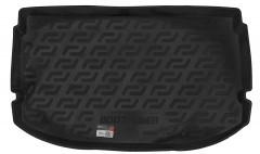 Коврик в багажник для Chevrolet Aveo '11- хетчбэк, резино/пластиковый (Lada Locker)