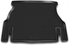 Коврик в багажник для Daewoo Nexia '05-08, полиуретановый (Novline / Element) черный
