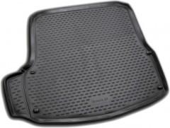 Коврик в багажник для Skoda Octavia A5 '05-13 лифтбэк, полиуретановый (Novline / Element) черный