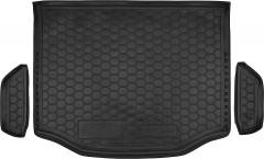 Коврик в багажник для Toyota RAV4 '13-, с полноразмерным запасным колесом, резиновый (AVTO-Gumm)