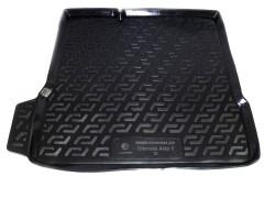 Коврик в багажник для Chevrolet Aveo '11- седан, резино/пластиковый (Lada Locker)