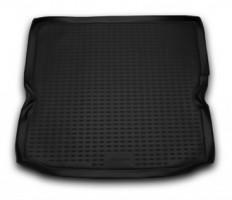 Коврик в багажник для Opel Zafira B '05-13, полиуретановый (Novline / Element) черный