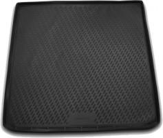 Коврик в багажник для Opel Astra J '09-15, универсал, полиуретановый (Novline / Element) черный