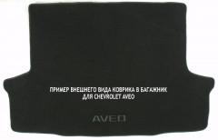 Коврик в багажник для Chevrolet Aveo '03-06 хетчбек, текстильный черный