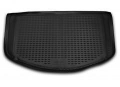 Коврик в багажник для Ssangyong Actyon '06-12, полиуретановый (Novline / Element) черный