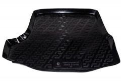 Коврик в багажник для Skoda Octavia A5 '05-13 лифтбэк, резино/пластиковый (Lada Locker)