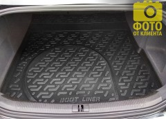 Коврик в багажник для Audi A6 '05-10 седан, резиновый (Lada Locker)