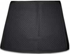 Коврик в багажник для Audi Q7 '05-14, полиуретановый (NorPlast) черный