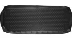 Фото 1 - Коврик в багажник для Nissan Pathfinder '14- (короткий), полиуретановый (Novline)