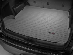 Коврик в багажник для Toyota Highlander '14-, длинный, резиновый (WeatherTech) серый