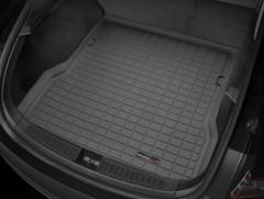Коврик в задний багажник для Tesla Model S '12- резиновый (WeatherTech) черный