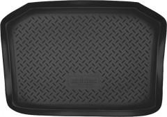 Коврик в багажник для Volkswagen Polo '02-09 хетчбэк, полиуретановый (NorPlast) черный