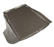 Коврик в багажник для BMW 5 E60 '03-10 седан, резино/пластиковый (Norplast)