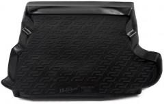 Коврик в багажник для Mitsubishi Outlander XL '07-12 (c сабвуфером), резиновый (Lada Locker)