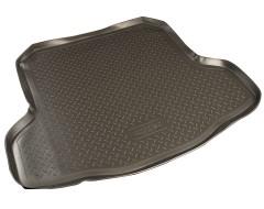 Коврик в багажник для Nissan Teana '08-14, полиуретановый (NorPlast) черный