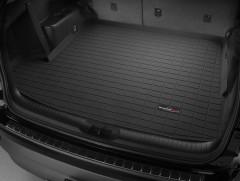 Коврик в багажник для Toyota Highlander '14-, длинный, резиновый (WeatherTech) черный