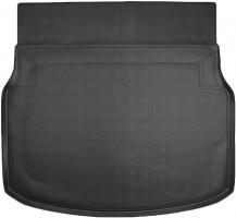 Коврик в багажник для Mercedes C-Class W204 '11-14 седан, резино/пластиковый (NorPlast) черный