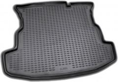 Коврик в багажник для Fiat Albea '02-11, полиуретановый (Novline / Element) черный