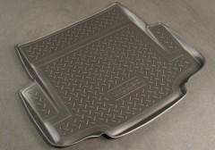 Коврик в багажник для BMW 1 E87 '07-12, полиуретановый (NorPlast) черный