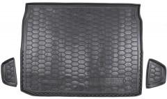 Коврик в багажник для Renault Kadjar '16-, верхний, резиновый (AVTO-Gumm)