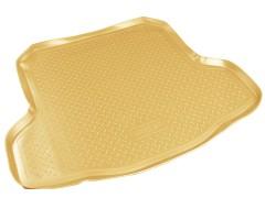 Коврик в багажник для Nissan Teana '08-14, полиуретановый (NorPlast) бежевый