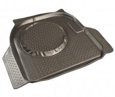 Коврик в багажник для Chery Amulet '04-12, резино/пластиковый (Norplast)