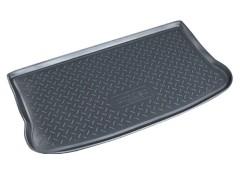 Коврик в багажник для Mitsubishi Colt '03-10, резино/пластиковый (NorPlast) черный