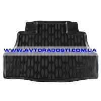 Коврик в багажник для Nissan Almera Classic '06-13, полиуретановый (Aileron)