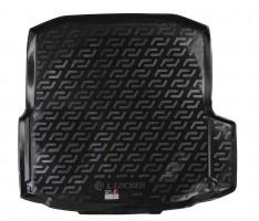 Коврик в багажник для Skoda Octavia A7 '13- седан, резино/пластиковый (Lada Locker)