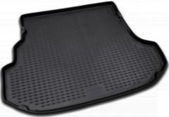 Коврик в багажник для Subaru Forester '03-08, полиуретановый (Novline / Element) черный
