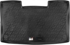 Коврик в багажник для Volkswagen Caravelle T5 '09-15, корот. с печкой, резино/пластиковый  (Lada Locker)