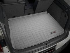 Коврик в багажник для Volkswagen Tiguan '07-16, резиновый (WeatherTech) серый