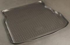 Коврик в багажник для Geely CK '06-, полиуретановый (NorPlast) черный