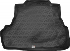 Коврик в багажник для Chevrolet Epica '07-12, резино/пластиковый (Lada Locker)