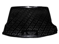 Коврик в багажник для Renault Logan MCV '08-12, резино/пластиковый (Lada Locker)