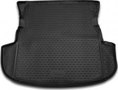 Коврик в багажник для Mitsubishi Outlander '12- (без органайзера), полиуретановый (Novline / Element) черный