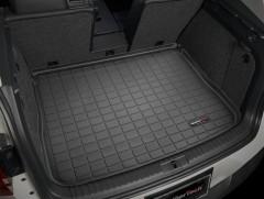 Коврик в багажник для Volkswagen Tiguan '07-16, резиновый (WeatherTech) черный