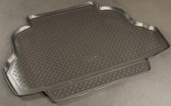 Коврик в багажник для Geely FC '06-, полиуретановый (NorPlast) черный