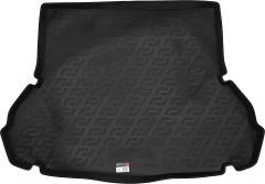 Фото 1 - Коврик в багажник для Hyundai Elantra XD '00-06 седан, резино/пластиковый (Lada Locker)