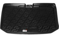 Коврик в багажник для Nissan Note '06-13, резиновый (Lada Locker)