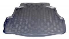 Коврик в багажник для Nissan Almera Classic '06-13, полиуретановый (Novline / Element) серый