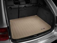 Коврик в багажник для Volkswagen Touareg '02-09, резиновый (WeatherTech) бежевый