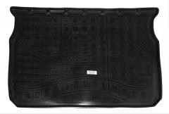 Коврик в багажник для Peugeot 208 '12-, резино/пластиковый (NorPlast) черный